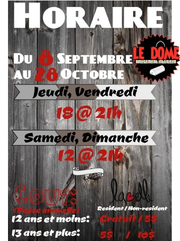 horaire automne 2017