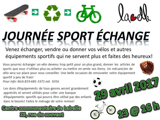 journee sport echange 29 avril