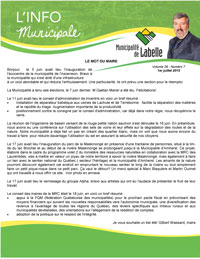 Pages de Info municipale juillet