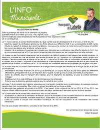 Pages de Info municipale avril