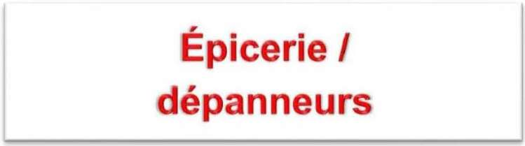 Epicerie ok rouge