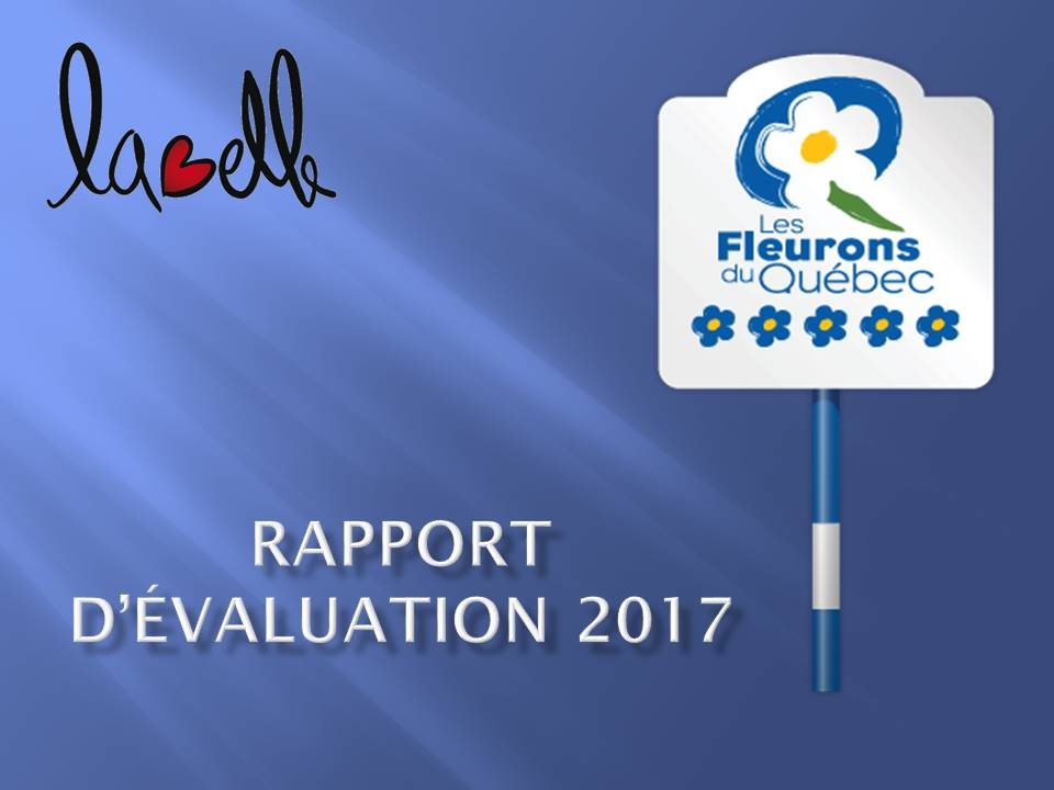 Fleurons rapport evaluation 2017