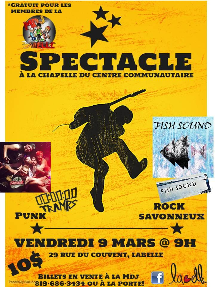 spectacle 9 mars
