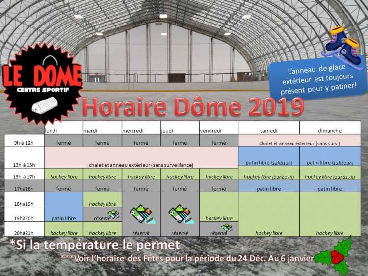 horaire patinoire 2019 ok