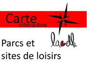 Carte sites de loisirs à Labelle